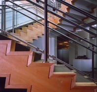 Mercedes Benz USA Corporate HEadquarters stair Montvale, NJ