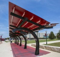 Rutgers Bus Transit Shelter - Livingston Campus