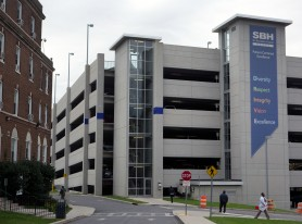 St Barnabas Hospital New Parking Garage