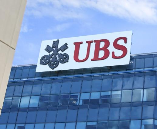 UBS -  Roof Signage Steel